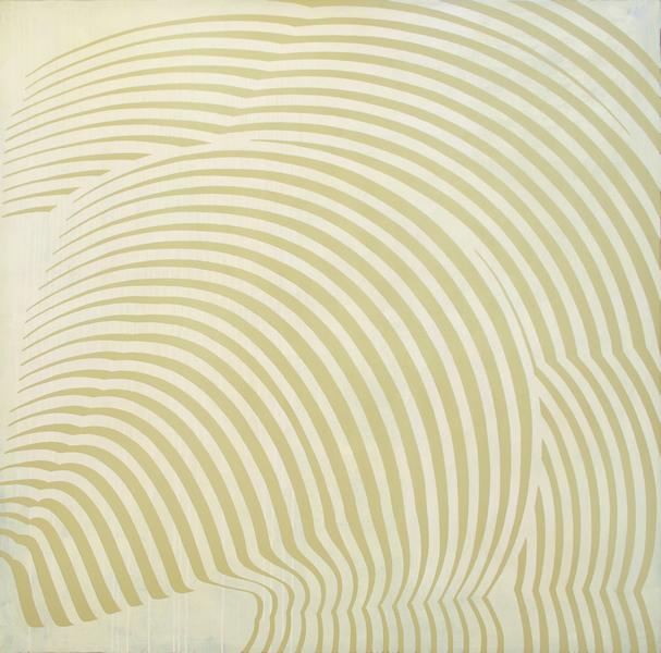 Amananecer en la Ciudad frente al Mar - 2008 - acrilico de 150x150 cm
