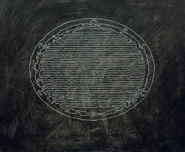 Los Vientos - 2002 - acrilico de 110x100 cm