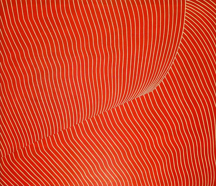 Ocaso - 2008 - acrilico de 166x145 cm