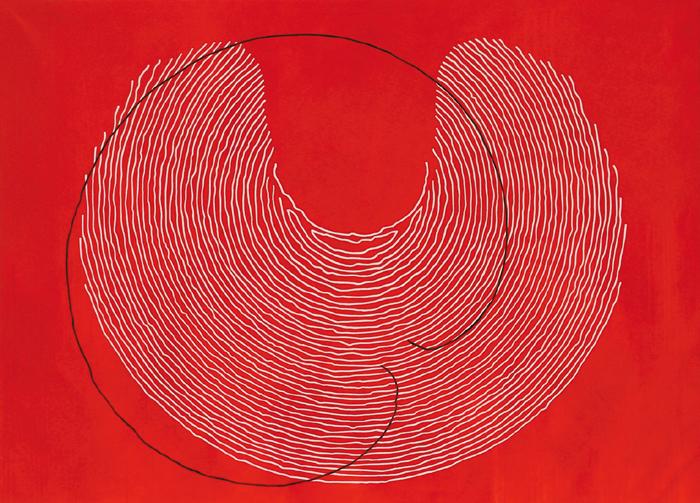 Pollock - 2003 - acrilico de 194x139 cm